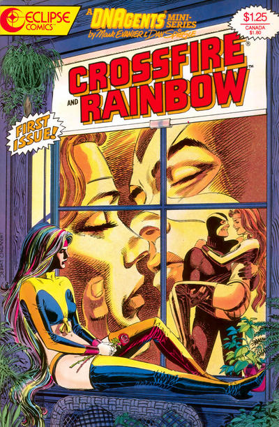 Cover for Crossfire and Rainbow (Eclipse, 1986 series) #1