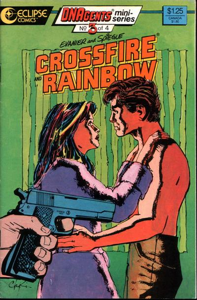 Cover for Crossfire and Rainbow (Eclipse, 1986 series) #3