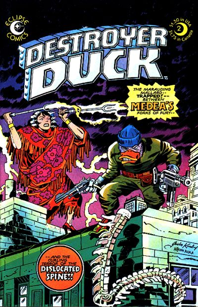 Cover for Destroyer Duck (Eclipse, 1982 series) #2