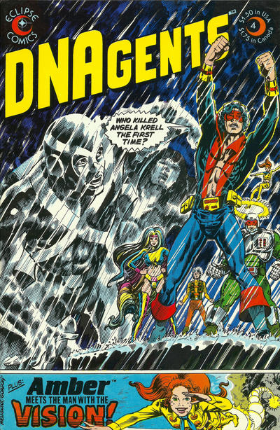 Cover for The DNAgents (Eclipse, 1983 series) #4