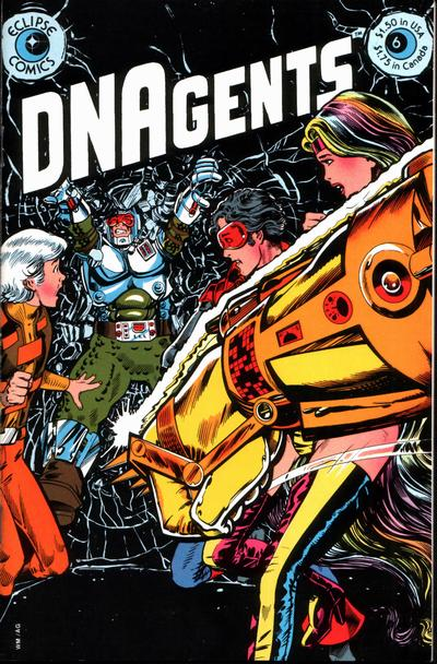 Cover for The DNAgents (Eclipse, 1983 series) #6