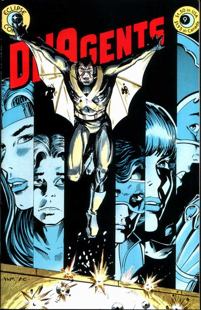 Cover for The DNAgents (Eclipse, 1983 series) #9