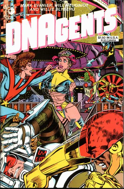 Cover for The DNAgents (Eclipse, 1983 series) #14