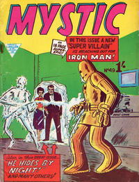 Cover Thumbnail for Mystic (L. Miller & Son, 1960 series) #49