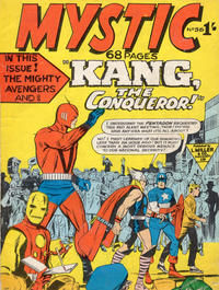 Cover Thumbnail for Mystic (L. Miller & Son, 1960 series) #56