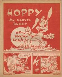 Cover Thumbnail for Hoppy, the Marvel Bunny [Well Known Comics] (Fawcett, 1944 series) #[nn]