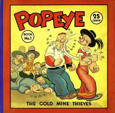 Cover for Popeye (David McKay, 1935 series) #1