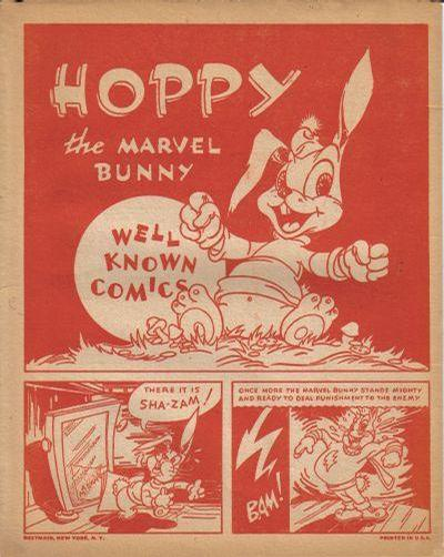 Cover for Hoppy, the Marvel Bunny [Well Known Comics] (Fawcett, 1944 series) #[nn]