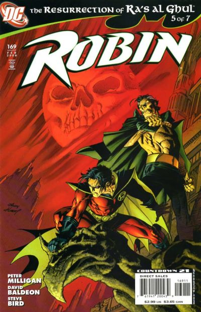 Cover for Robin (DC, 1993 series) #169 [Second Printing]