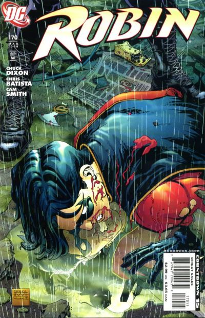 Cover for Robin (DC, 1993 series) #170