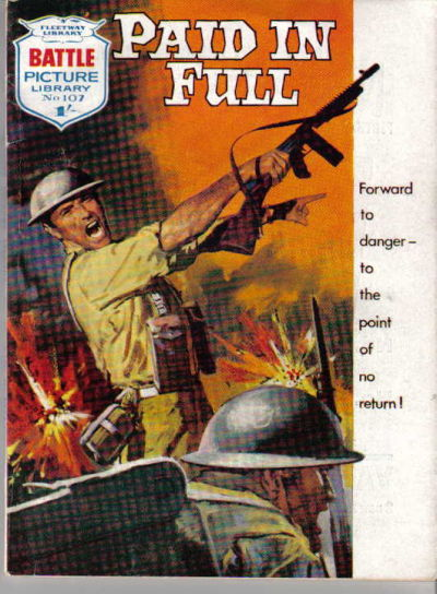 Cover for Battle Picture Library (IPC, 1961 series) #107