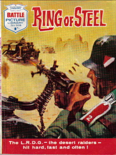 Cover for Battle Picture Library (IPC, 1961 series) #108