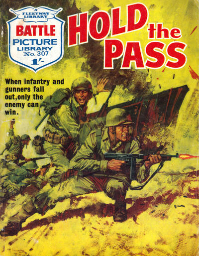 Cover for Battle Picture Library (IPC, 1961 series) #307