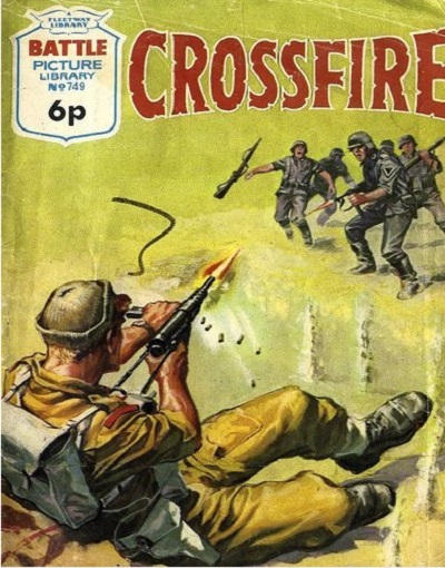 Cover for Battle Picture Library (IPC, 1961 series) #749