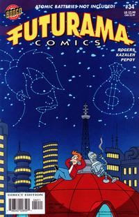 Cover Thumbnail for Bongo Comics Presents Futurama Comics (Bongo, 2000 series) #34