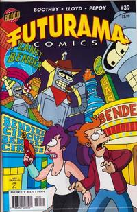 Cover Thumbnail for Bongo Comics Presents Futurama Comics (Bongo, 2000 series) #39
