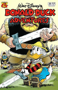 Cover Thumbnail for Walt Disney's Donald Duck Adventures (Gladstone, 1993 series) #23