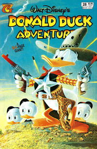 Cover Thumbnail for Walt Disney's Donald Duck Adventures (Gladstone, 1993 series) #28 [Direct]