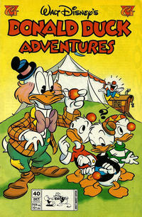 Cover Thumbnail for Walt Disney's Donald Duck Adventures (Gladstone, 1993 series) #40