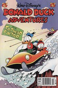 Cover Thumbnail for Walt Disney's Donald Duck Adventures (Gladstone, 1993 series) #48