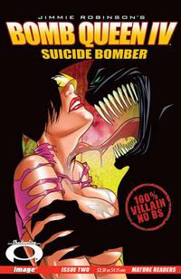 Cover Thumbnail for Bomb Queen IV Suicide Bomber (Image, 2007 series) #2