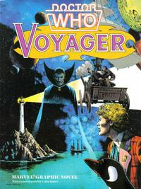Cover Thumbnail for Doctor Who Graphic Novel Voyager (Marvel UK, 1985 series)