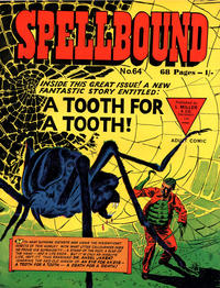 Cover Thumbnail for Spellbound (L. Miller & Son, 1960 ? series) #64