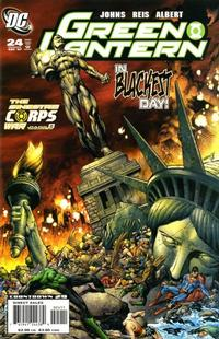 Cover Thumbnail for Green Lantern (DC, 2005 series) #24 [Direct Sales]