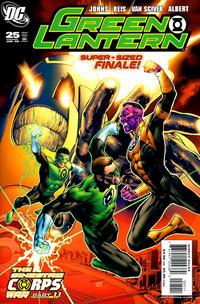 Cover Thumbnail for Green Lantern (DC, 2005 series) #25