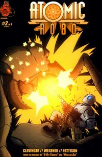 Cover Thumbnail for Atomic Robo (Red 5 Comics, Ltd., 2007 series) #2
