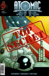 Cover Thumbnail for Atomic Robo (Red 5 Comics, Ltd., 2007 series) #4