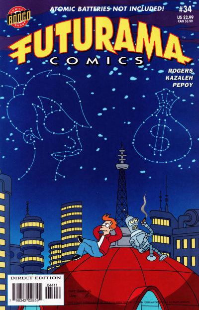 Cover for Bongo Comics Presents Futurama Comics (Bongo, 2000 series) #34