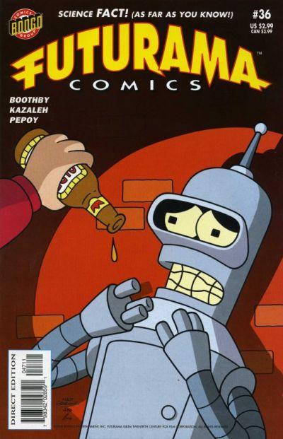 Cover for Bongo Comics Presents Futurama Comics (Bongo, 2000 series) #36
