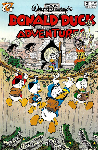 Cover for Walt Disney's Donald Duck Adventures (Gladstone, 1993 series) #21