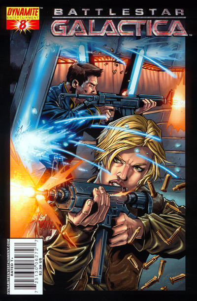 Cover for Battlestar Galactica (Dynamite Entertainment, 2006 series) #8 [8E]