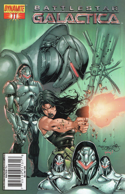 Cover for Battlestar Galactica (Dynamite Entertainment, 2006 series) #11 [11E]