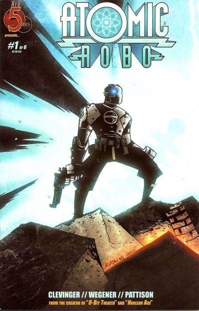 Cover for Atomic Robo (Red 5 Comics, Ltd., 2007 series) #1