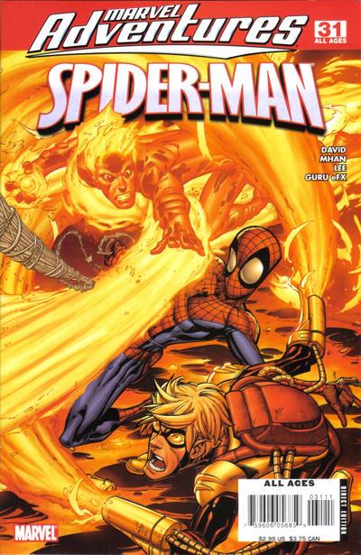 Cover for Marvel Adventures Spider-Man (Marvel, 2005 series) #31