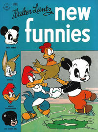 Cover Thumbnail for Walter Lantz New Funnies (Dell, 1946 series) #110