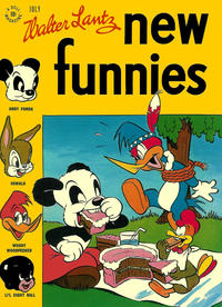 Cover Thumbnail for Walter Lantz New Funnies (Dell, 1946 series) #113