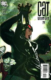 Cover Thumbnail for Catwoman (DC, 2002 series) #75 [Adam Hughes Cover]