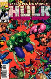 Cover Thumbnail for The Incredible Hulk (Marvel, 1968 series) #467 [Direct Edition]