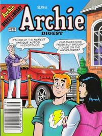 Cover Thumbnail for Archie Comics Digest (Archie, 1973 series) #239