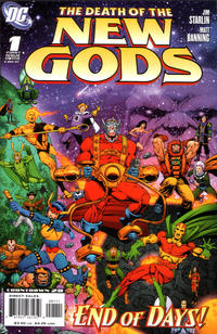 Cover Thumbnail for Death of the New Gods (DC, 2007 series) #1 [Jim Starlin / Matt Banning Cover]