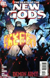 Cover Thumbnail for Death of the New Gods (DC, 2007 series) #3