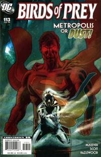 Cover Thumbnail for Birds of Prey (DC, 1999 series) #113