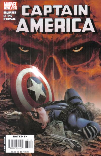 Cover for Captain America (Marvel, 2005 series) #31