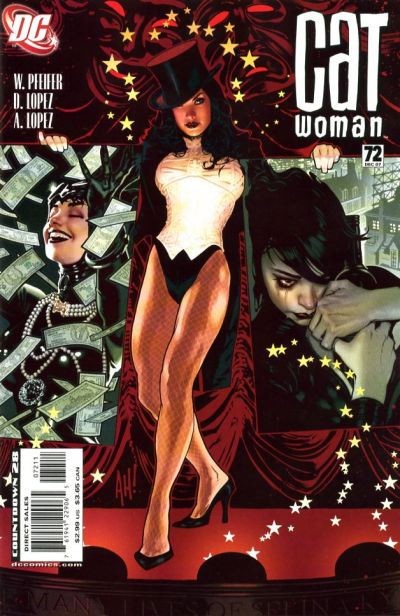Cover for Catwoman (DC, 2002 series) #72