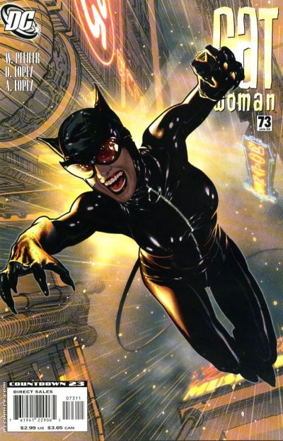 Cover for Catwoman (DC, 2002 series) #73