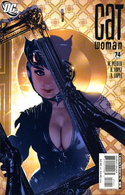 Cover for Catwoman (DC, 2002 series) #74